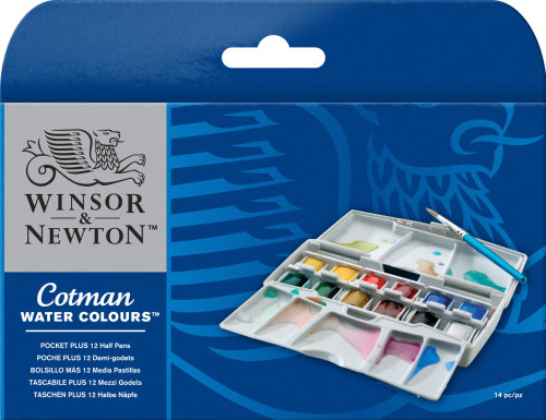 Watercolour Set - Winsor & Newton Cotman Pocket Plus