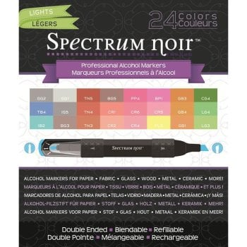 Spectrum Noir 24 Pen Box Set - Lights