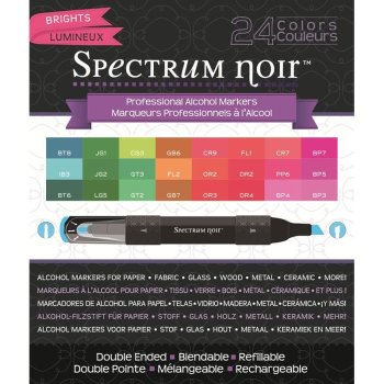 Spectrum Noir 24 Pen Box Set - Brights