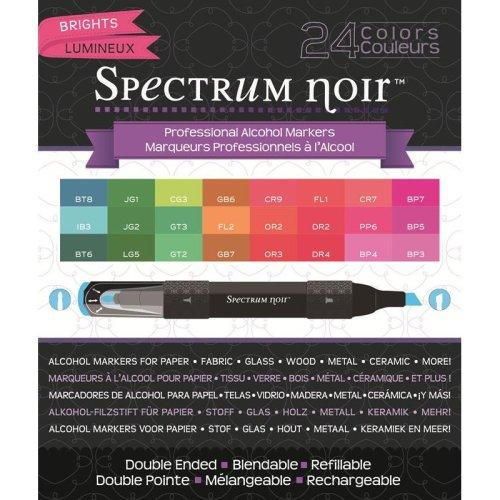 Spectrum Noir 24 Pen Box Set - Brights