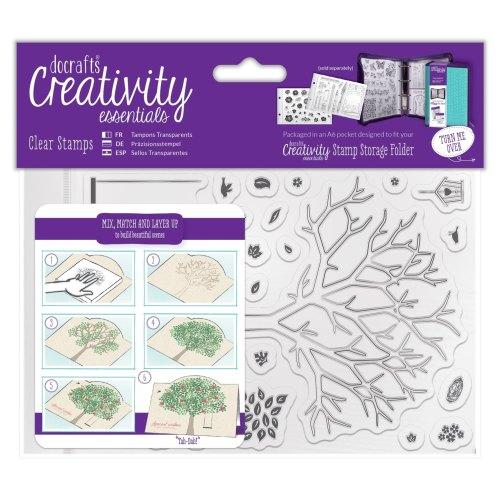 A6 Clear Stamp Set (30pcs) - Build A Tree