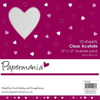 """12 x 12"""" Acetate (10pk) - Plain"""
