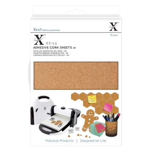 Xcut Xtra A5 Adhesive Cork Sheets (15pcs)