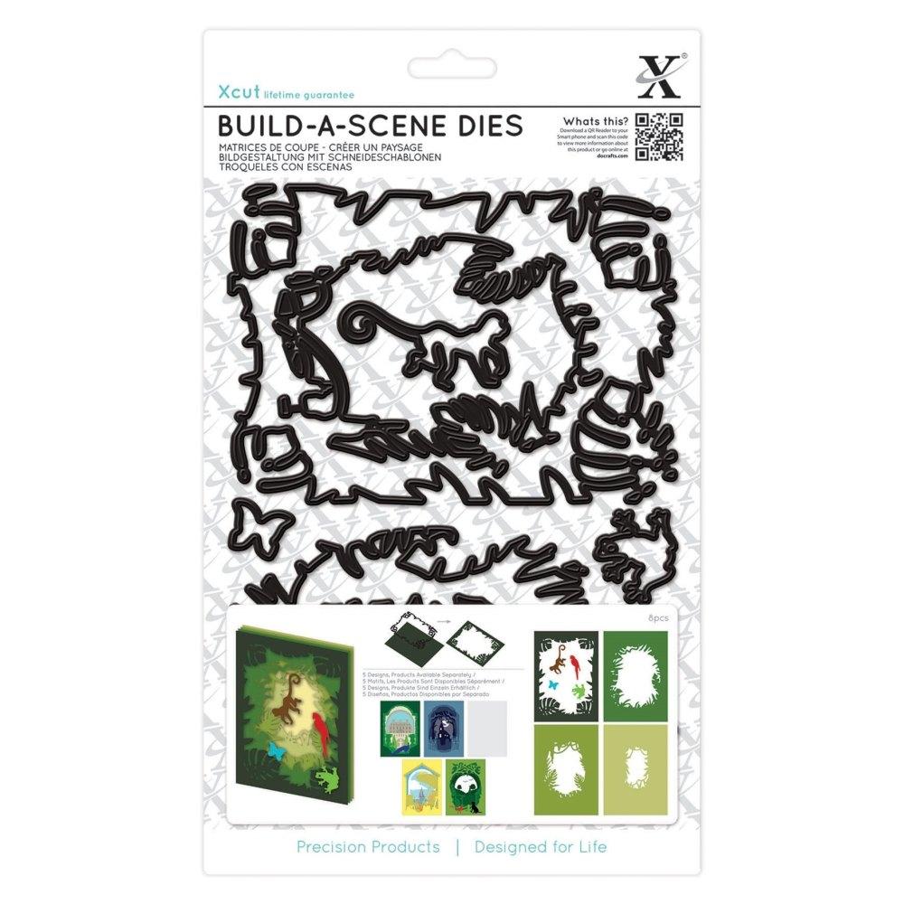 Build a Scene Die - Jungle : Die cutting / Docrafts