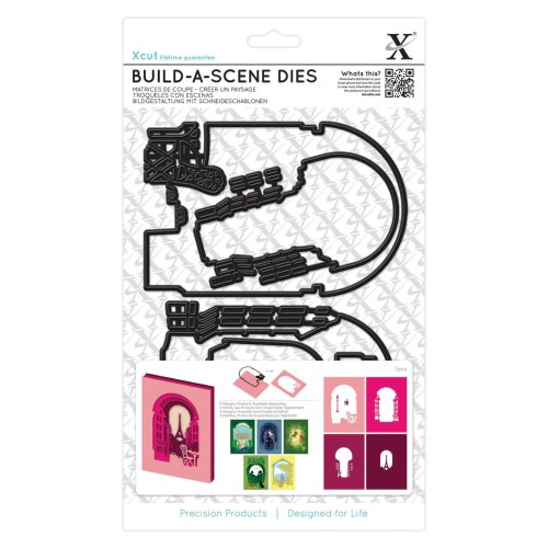 Build a Scene Die - Parisian Street : Die cutting