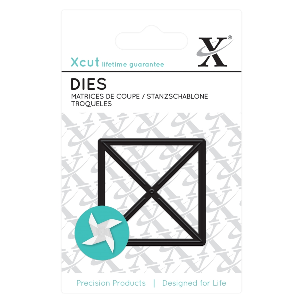 Mini die - Pinwheel : Die cutting die by Docrafts