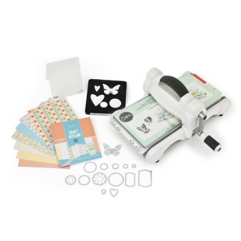 Sizzix Big Shot Manual Die Cutting Machine - Starter Kit