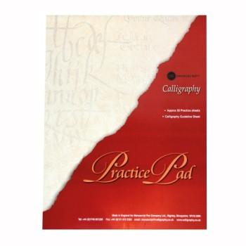 Manuscript Calligraphy Practice Pad, A4, 50 sheets.