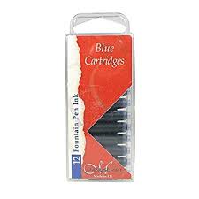 Manuscript Blue Cartridges