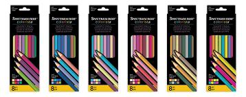Spectrum Noir Colourista colourists pencils Set 1 8pc
