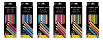 Spectrum Noir Colourista colourists pencils Set 3 8pc