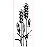 Imagination Craft 18.8cm x 7.8cm Stencil - Wheat