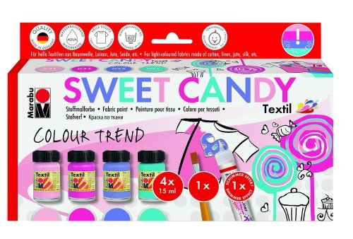 Textile Paint Assortment - Sweet Candy
