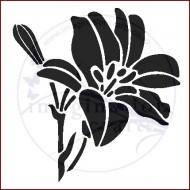 Imagination Crafts 15cm x 15cm Stencil Template - Lily Flower Bud