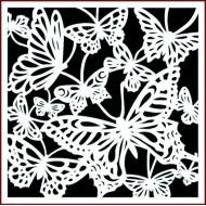 Imagination Craft 15cm x 15cm Stencil - Butterfly delight