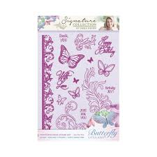 Crafters Companion Signature Collection Photopolymer Stamp Set - Just For You