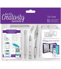 A6 Clear Stamp Set (12pcs) - Stationary