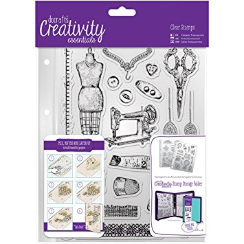 A5 Clear Stamp Set (19pcs) - Habedashery