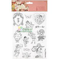 A5 Clear Stamps Set (15pcs) - Victorian Valentine