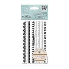 Tall Urban Stamp (6pcs) Craft Collections - Pastels