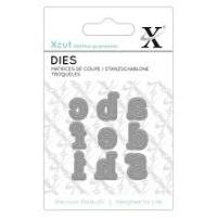 Mini Die (9pcs) - Serif Alpha 1