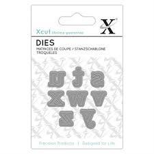 Mini Die (8pcs) - Serif Alpha 3