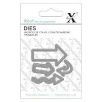 Mini Die (4pcs) - Arrows