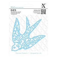 Xcut Dies (1pc) Filigree Swallow