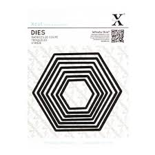 Xcut Dies Nesting Hexagon (7pcs)