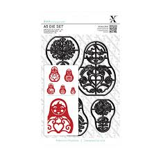 A5 Die Set (5pcs) Russian Dolls
