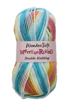 Stylecraft Yarn Wondersoft Merry Go Round DK - Candy Crush 3144
