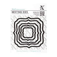 Xcut Nesting Dies Square Parenthisis (5pcs)