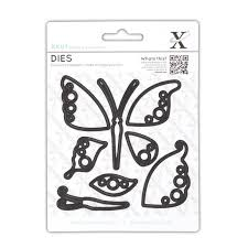 Xcut Dies Decorative Dies - Butterflies (8pcs)