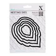 Xcut Dies Nesting Dies - Leaves (5pcs)