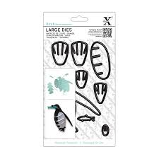 Xcut Large Dies - 3D penguin (8pcs)