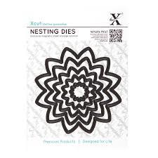 Xcut Dies Nesting Dies Flower (5pcs)