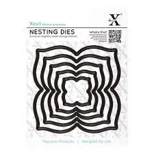 Xcut Dies Nesting Dies Four Petal(5pcs)