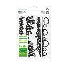 Xcut Dies A5 Die Set - English Countryside Borders (4pcs)