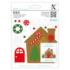 Xcut Dies (18pcs) - Gingerbread House