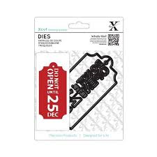 Xcut Dies (1pc) - Do Not Open Tag