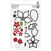Xcut Dies A5 Die Set (12pcs) - Poinsettia