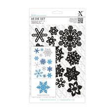 Xcut Dies A5 Die Set (13pcs) - Snowflakes