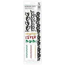 Xcut Border Dies (3pcs) - Christmas Borders