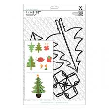 Xcut A4 Die Set (5pcs) - Build a Christmas Tree