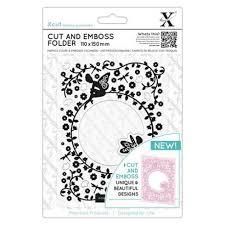 Xcut Cut and Emboss Folder 110 x 150mm - Flower Fairies
