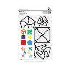 Xcut Dies A5 Die Set (6pcs) Mini Pinwheels