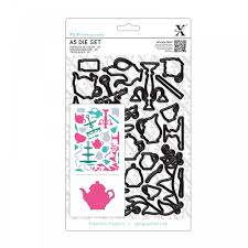 Xcut Dies A5 Die Set (26pcs) Tea Party