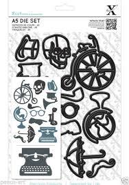 Xcut Dies A5 Die Set (16pcs) Vintage Icons