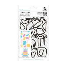 Xcut Large Die Set (19pcs) - Birthday Party