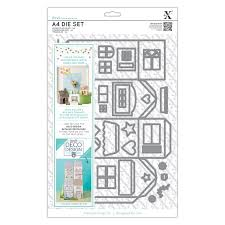 Xcut A4 Die Set (37pcs) - Deco Design House